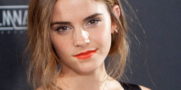 English actress Emma Watson poses for photographers during the photocall of the film: 'Regression' in...