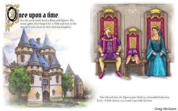 공주로 변하는 왕자가 나오는 어린이 책이