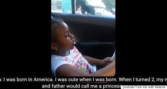 고향이 미국인 여자아이와 한국인 택시기사의 귀여운