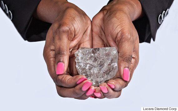 세계에서 두 번째로 큰 다이아몬드 원석이