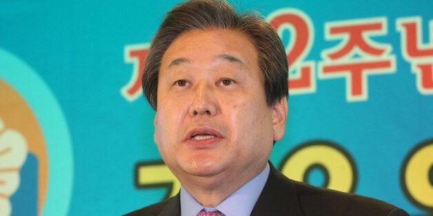 새누리당 김무성 대표가 20일 서울 종로구 세종문화회관에서 열린 제52회 경우의 날 기념식에서 축사를 하고 있다.