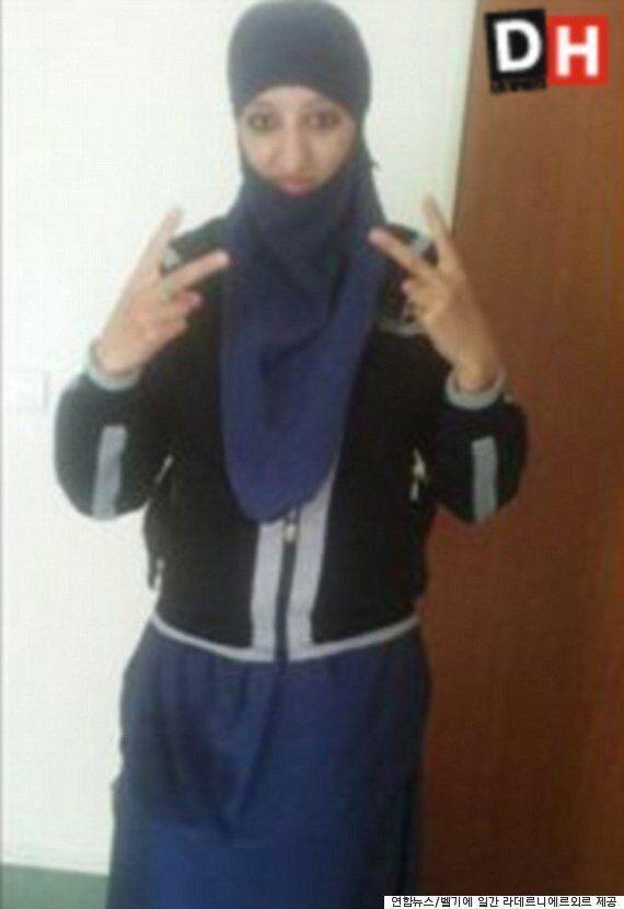 '서유럽 최초 여성 자살폭탄 테러범'이