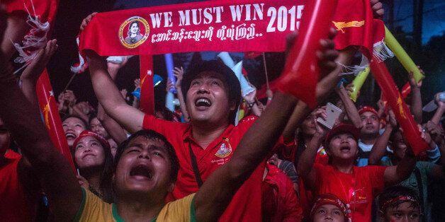 미얀마 야당, 역사적인 정권교체를 이루게