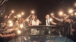 결혼식날 밤 풍경을 담은 20장의