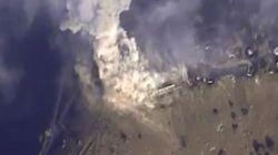 러시아, 공습 시작 후 최대 규모로 IS점령지
