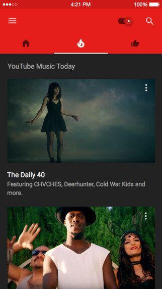 유튜브의 음악 앱 '뮤직'이 세상에