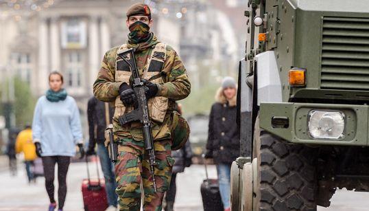 [화보] '테러경보' 브뤼셀의 초현실적