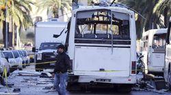 튀니지 대통령경호원 버스 공격, 자폭 테러로