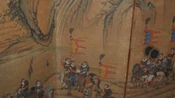 김홍도의 작품으로 추정되는 10쪽 병풍이 미국에서
