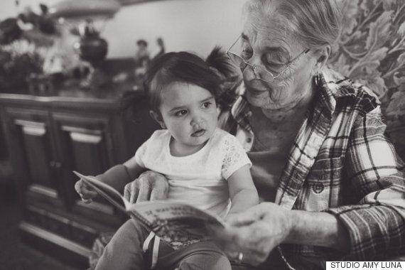 내 할아버지와 할머니의 모습을 기억하기 위해 사진을