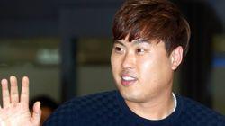 한국에 온 류현진과 나눈