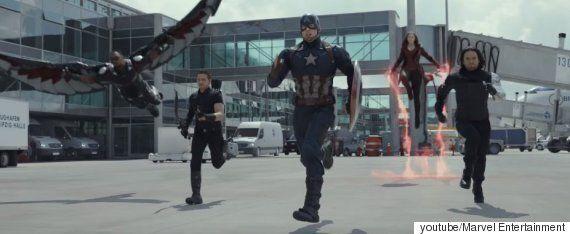 '캡틴 아메리카: 시빌 워' 예고편에서 찾을 수 있는
