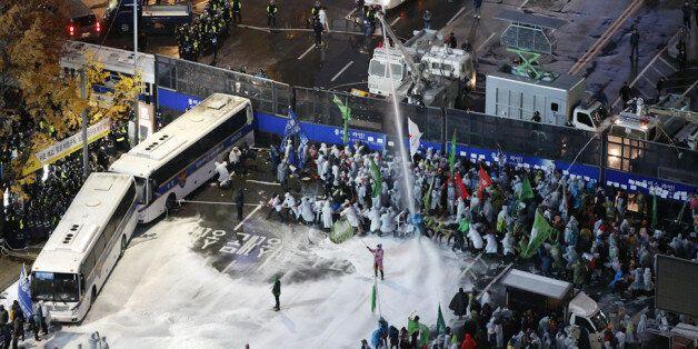 [라이브블로그] 10만명 참가 '민중총궐기