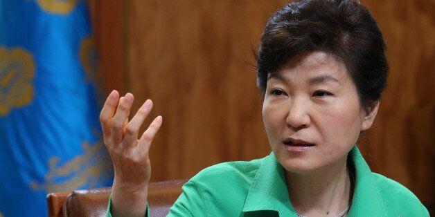 박근혜, 8개국 언론사 공동 인터뷰에서 이렇게