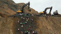 미얀마 북부 폐광석 더미 붕괴로 75명
