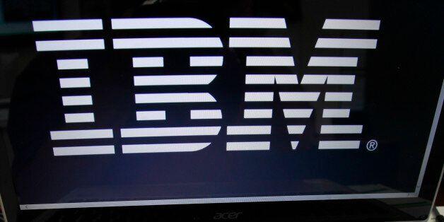 FILE - In this July 16, 2013, file photo, an IBM logo is displayed in Berlin, Vt. IBM says federal regulators...