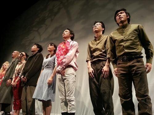일본대학 연극과 학생들, 한국현대사의 비극을