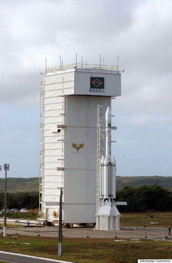 브라질 우주센터서 로켓 폭발사고...인명피해는