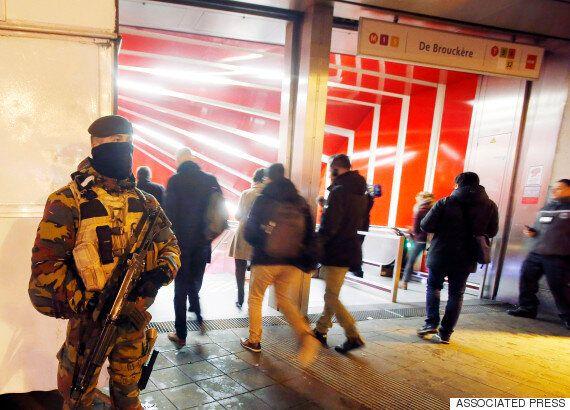 브뤼셀 학교 재개·지하철 부분 운행, 테러경보