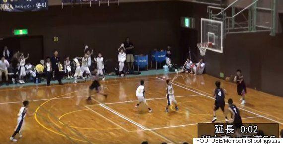 일본 초등학생 농구 경기에서 나온 기적 같은