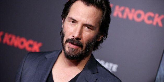 Keanu Reeves arrives at an LA Special Screening