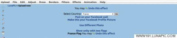페이스북 프로필로 파리와 베이루트 테러를 동시에 추모하는