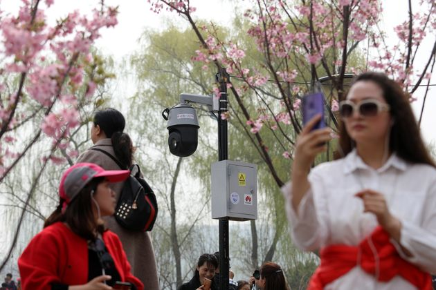 北京市の監視カメラ