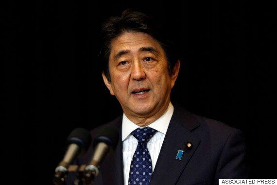 아베 신조 일본 총리,