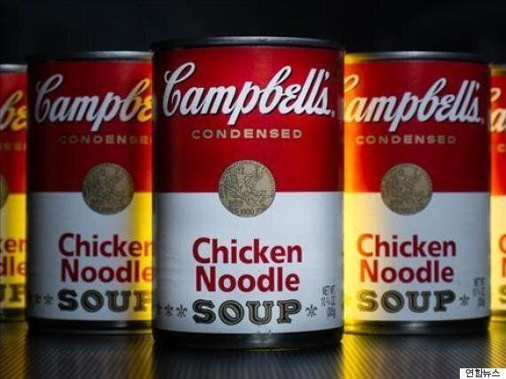캠벨 수프가 전통 레서피를