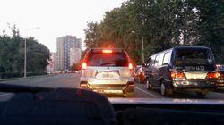 평양 도로는 서울 도로와 무척이나