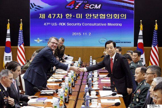 한국-미국 국방장관, 북 미사일 파괴 '4D 작전계획' 수립