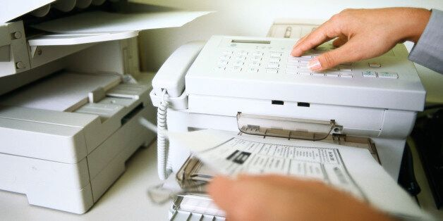 교육부의 국정화 이의신청 팩스는 꺼져