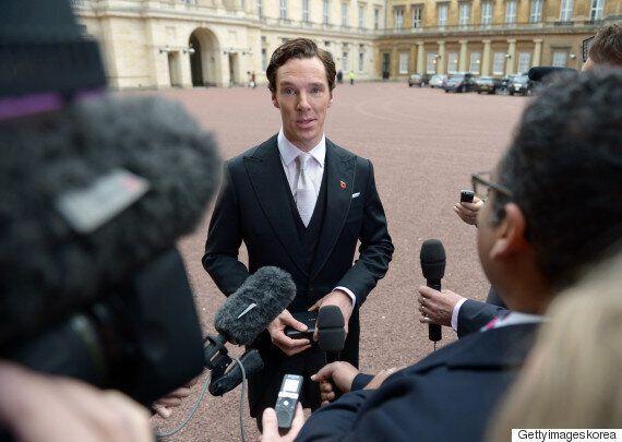영국 왕실에서 훈장을 받은 베네딕트 컴버배치(사진,