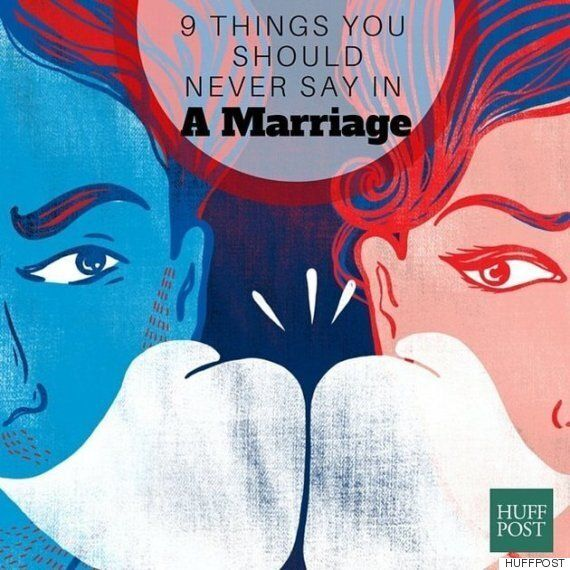 당신의 배우자가 이런 말을 한다면 당신의 결혼은