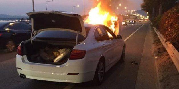 BMW코리아, 차량 화재 결국