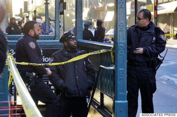 뉴욕 맨하탄 지하철역 총격 : 1명