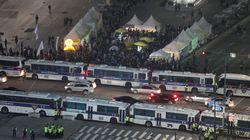 경찰, 14일 '8만명 시위'에 차벽