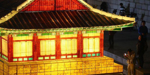 청계천에서 서울빛초롱축제가