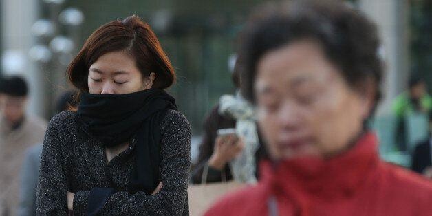 올 가을 최저기온에 서울 첫