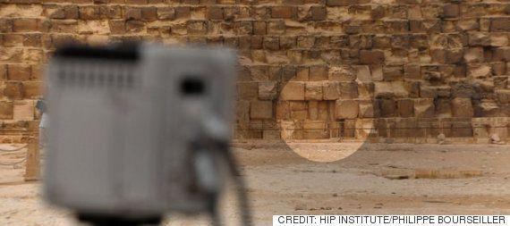 이집트의 고대 유적 피라미드에서 이상 현상이
