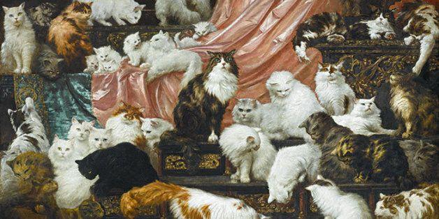 10억에 육박하는 고양이