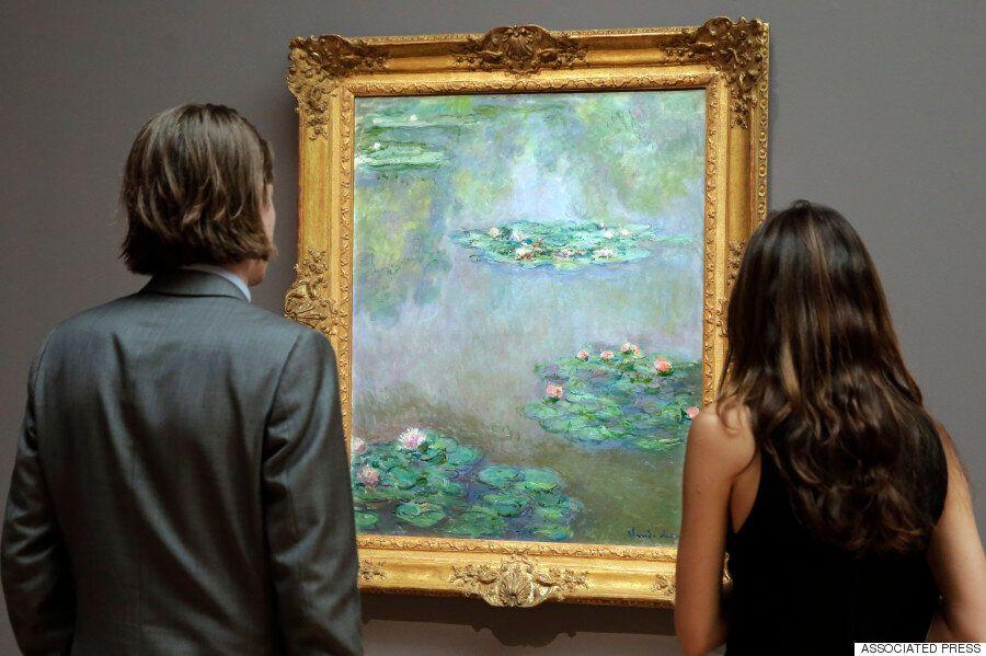 피카소, 모네, 반 고흐의 작품이 미국 경매소에서 수백억원에