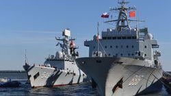 중국 함대, 남중국해에서