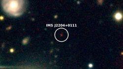 한국 연구진이 우주 나이 10억살 때 만들어진 거대질량 블랙홀 천체를