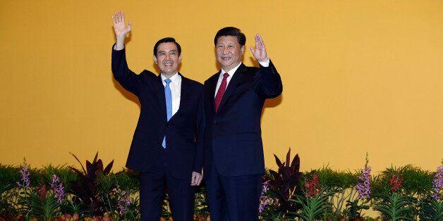 66년만에 중국·대만 정상이