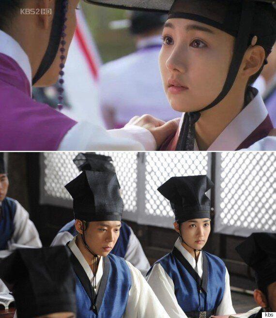 한국 드라마에 등장했던 남장여자 캐릭터