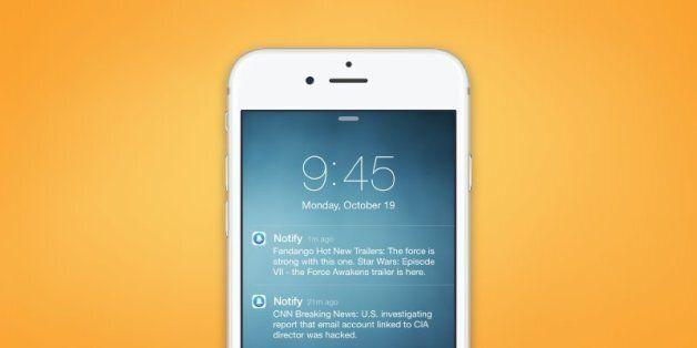 페이스북이 출시한 알림 전용 앱은 이렇게 생겼다
