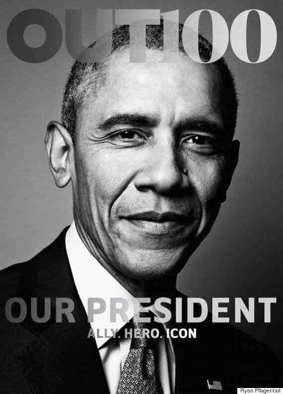 오바마, LGBT 잡지 표지모델이