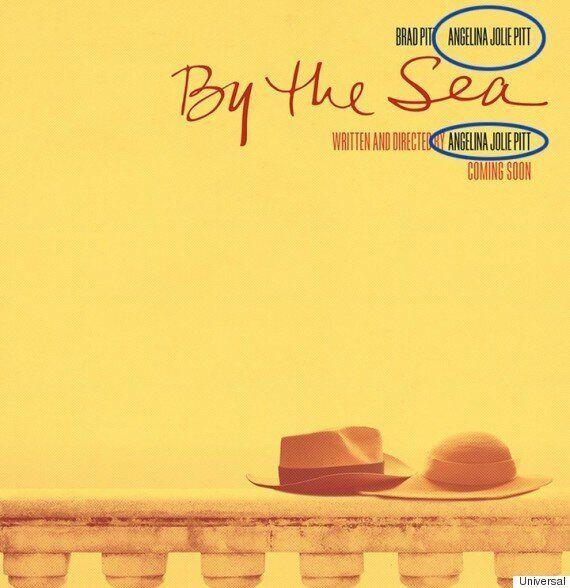 안젤리나 졸리가 새 영화 포스터에서 성(姓)을