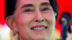 미얀마, 25년만의 자유총선 투표